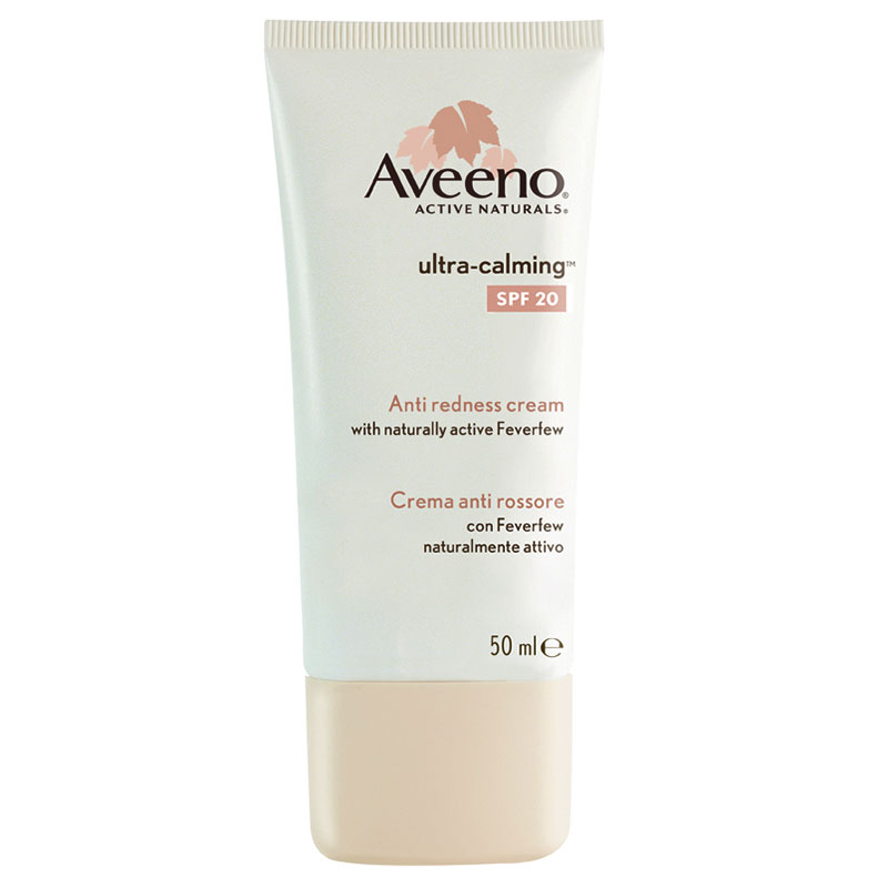 Aveeno ultra-calm spf20 anti redness creme 50ml -zarachispharmacy overespa