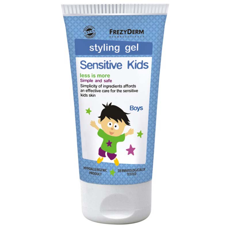 Frezyderm Kids Hair Styling Απαλό gel Sensi  για δυνατό κράτημα 100 Ml Zarachispharmacy Overespa