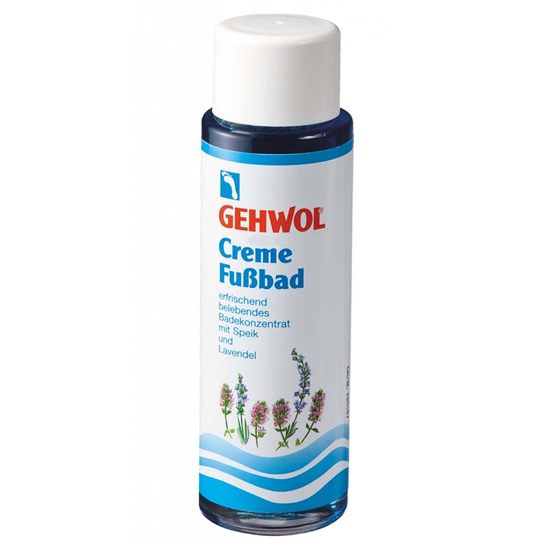 Gehwol Foot Bath Cream Με βαλεριάνα και λεβάντα, 150ml Zarachispharmacy Overespa