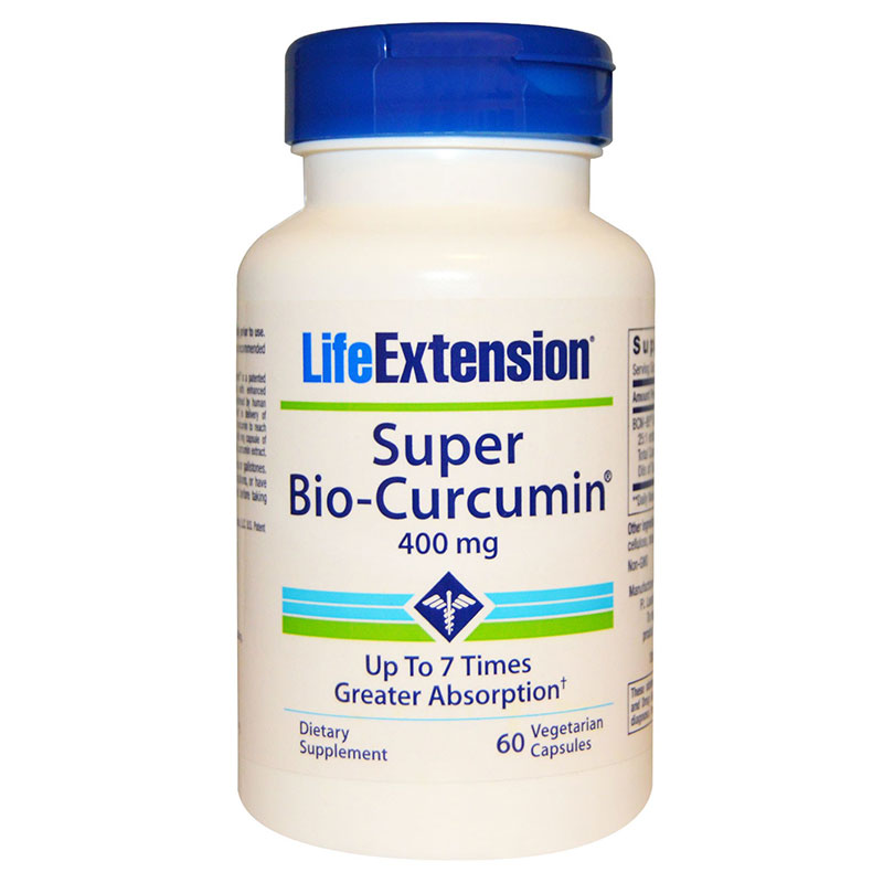 Life extension super bio-curcumin 60 caps -zarachispharmacy overespa