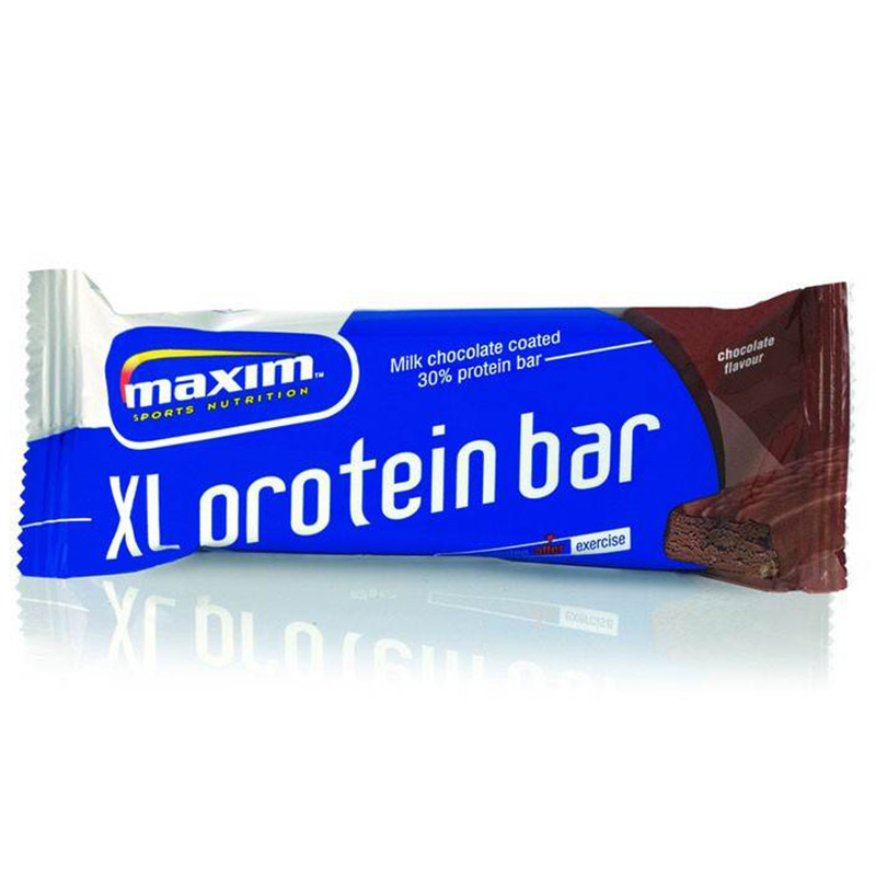 Maxim Protein Bar Xl Chocolate flavour 82gr 15 τεμάχια-zarachispharmacy overespa