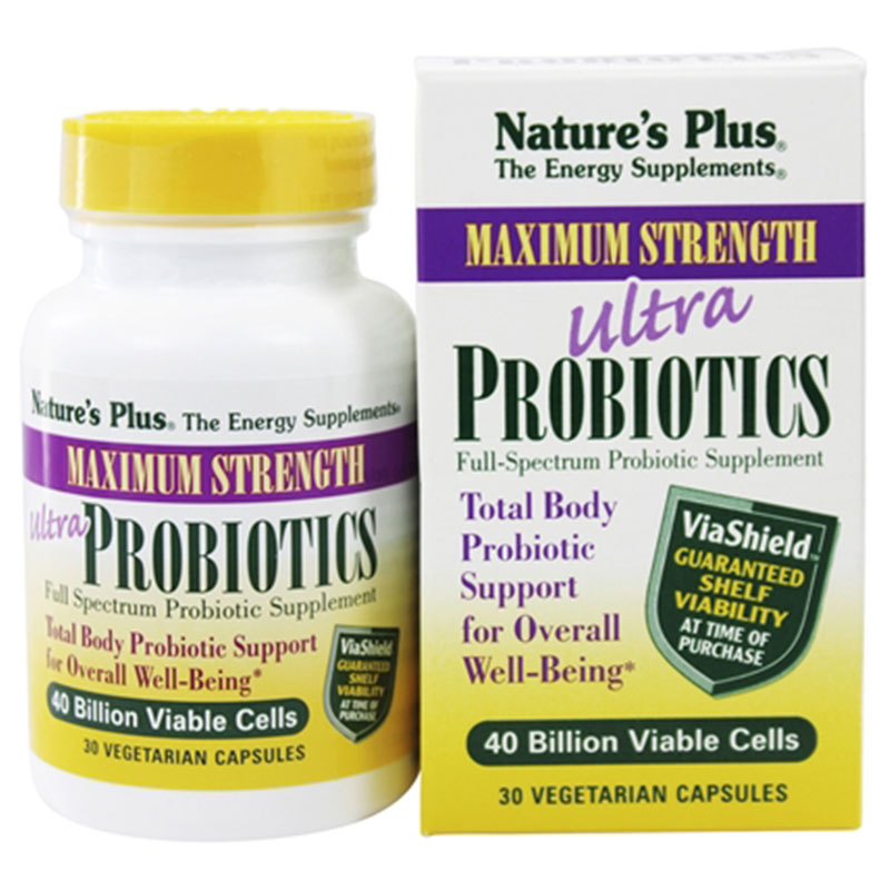 Nature`s plus ultra probiotics caps 30 -zarachispharmacy overespa
