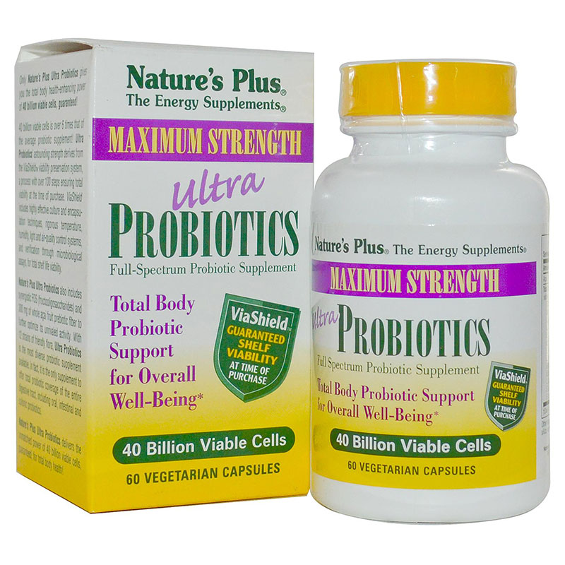 Nature`s plus ultra probiotics caps 60 - zarachispharmacy overespa