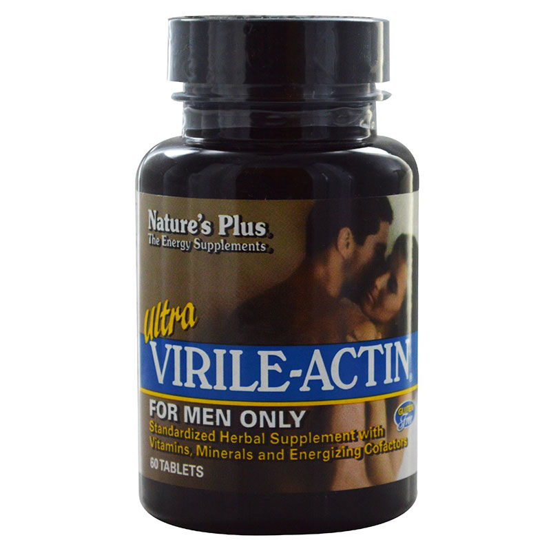 Nature`s plus ultra virile-actin tablets 60 -zarachispharmacy overespa