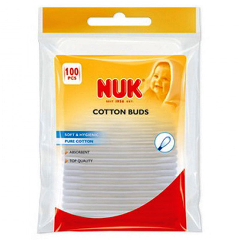 Nuk cotton buds 100 -zarachispharmacy overespa