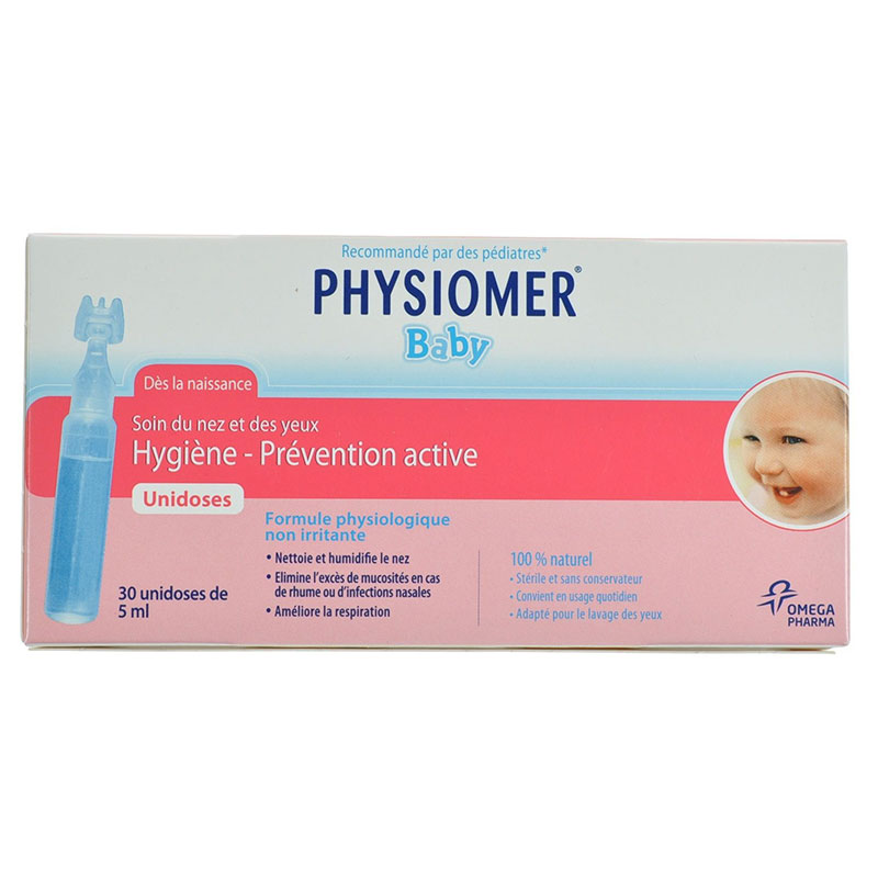 Physiomer unidoses 30 x 5ml -zarachispharmacy overespa