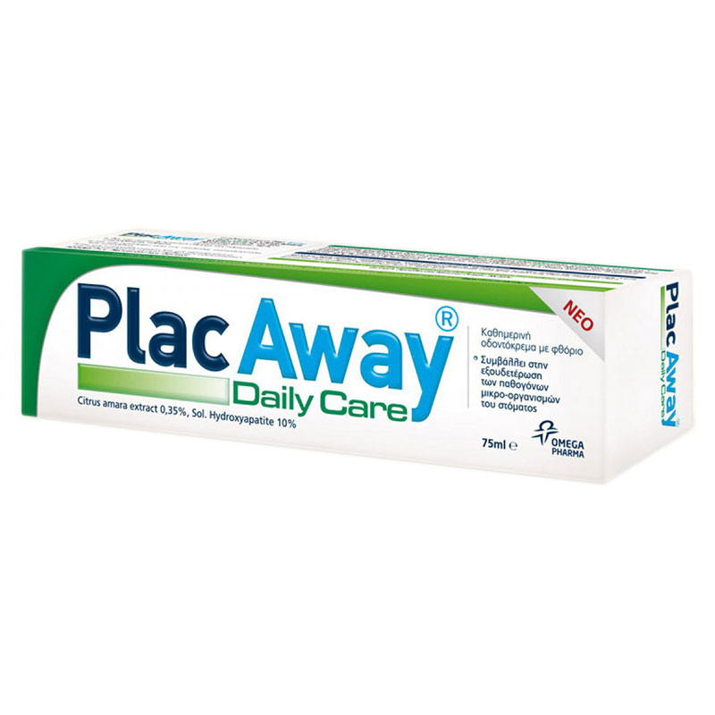 Plac Away Daily Care Pasta 75ml -zarachispharmacy overespa