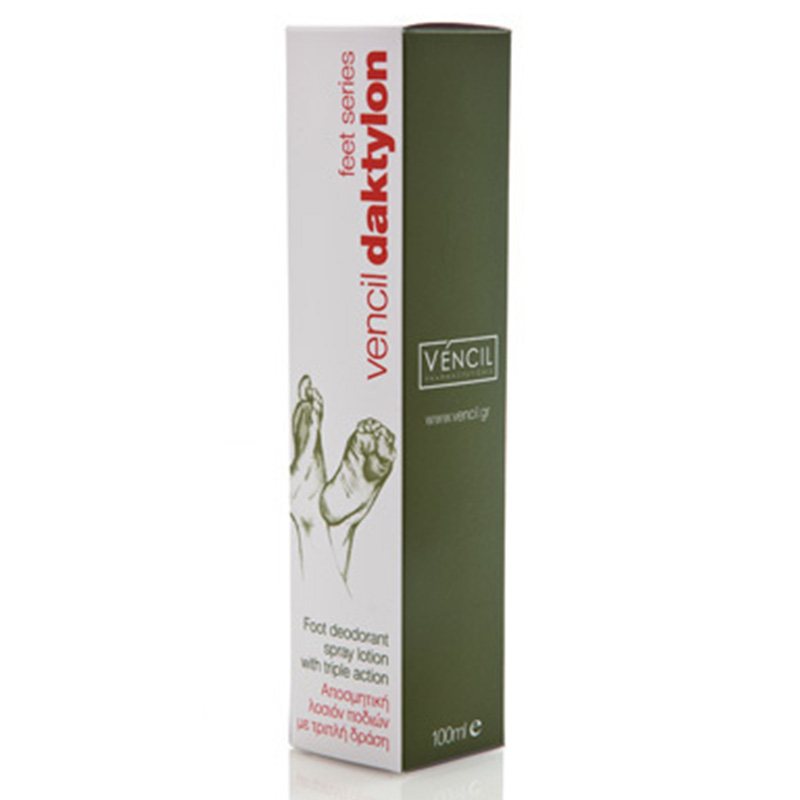 Vencil daktylon foot deodorant spray lotion 100ml -zarachispharmacy overespa