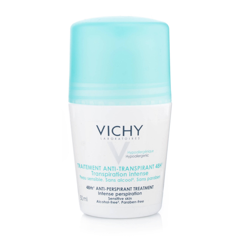 Vichy Anti-transpirant Roll On Για 48ωρη αποσμητική φροντίδα, 50ml zarachispharmacy overespa