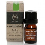 Apivita essential oil basilicum 5ml - zarachispharmacy overespa