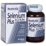 Health aid selenium plus 200 μg 60 tabs - zarachispharmacy overespa