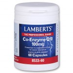 Lamberts Co-enzyme Q10 Συμπληρώματα, 100mg 60caps Zarachispharmacy - Overespa