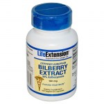 Life extension bilberry extract 100mg 100veg cap -zarachispharmacy overespa