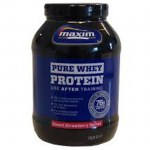 Maxim whey protein strawberry pure 750 gr -zarachispharmacy overespa