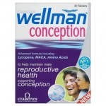 Vitabiotics wellman conception 30tabs -zarachispharmacy overespa