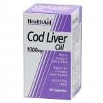 health aid cod liver oil 1000mg 30caps Συμπληρώματα διατροφής κατά της αρθρίτιδας - zarachispharmacy overespa