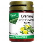 power health Evening Primrose Oil Φυσική πηγή λιπαρών οξέων Ω3, 500mg 30 S -zarachispharmacy overespa